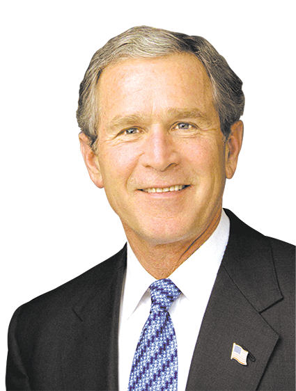 Former President George W. Bush will speak at the Saban Theatre on April 19. (photo courtesy of DSS)