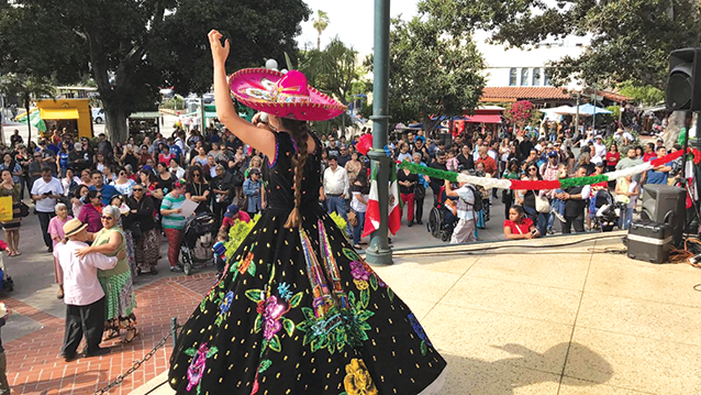 Los Angeles City Controller Ron Galperin created a map to highlight the city's Latinx heritage. (photo courtesy of the office of the City Controller)
