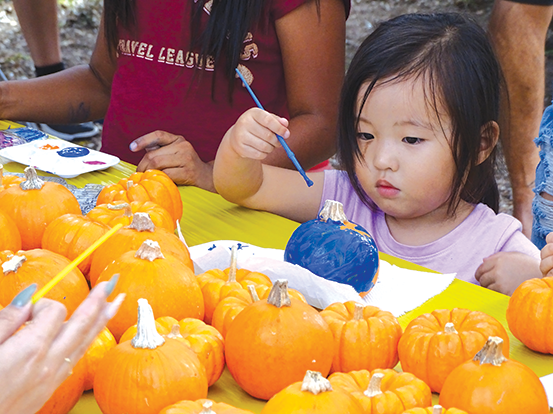 The third annual Griffith Park Harvest Festival features activities for the whole family. (photo courtesy of the Los Angeles Parks Foundation)
