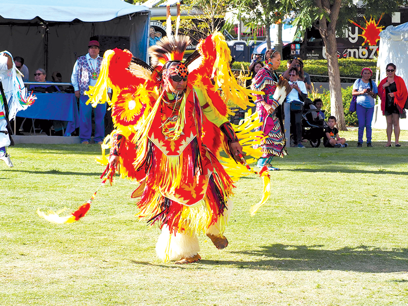 Indigenous Peoples Day will include entertainment and presentations on Native culture. (photo by Luke Harold)