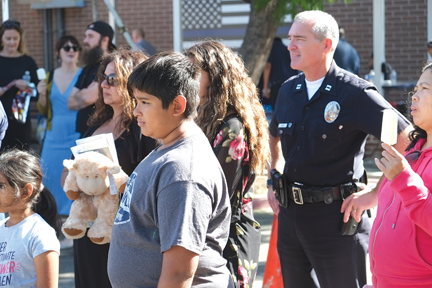 The LAPD wants to connect with the community at its annual open house on Oct. 20. (photo courtesy of the LAPD)