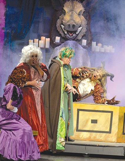 """Nine O'Clock Players offers fun and educational shows, including a previous production of """"Beauty and the Beast."""" (photo courtesy of Nine O'Clock Players)"""