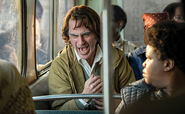 "Joaquin Phoenix's memorable performance is a high point in ""Joker."" (photo courtesy of Warner Bros. Pictures)"