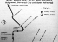 VINTAGE: Plan would have brought Metro rail through WeHo