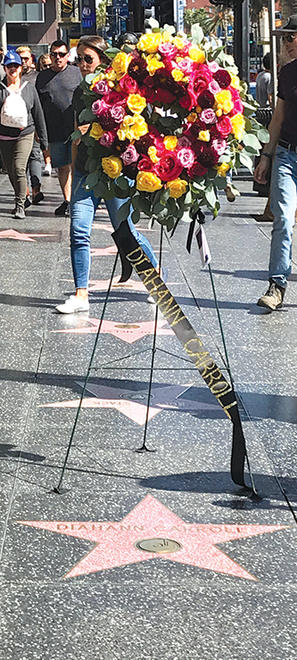 (photo courtesy of the Hollywood Walk of Fame)