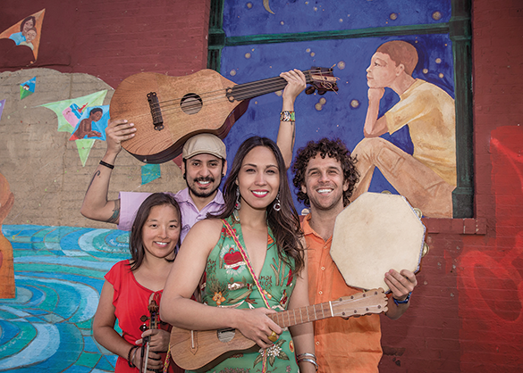 Sonia De Los Santos and friends will perform Sunday, Nov. 10 at The Wallis. (photo by Quetzal Photography)