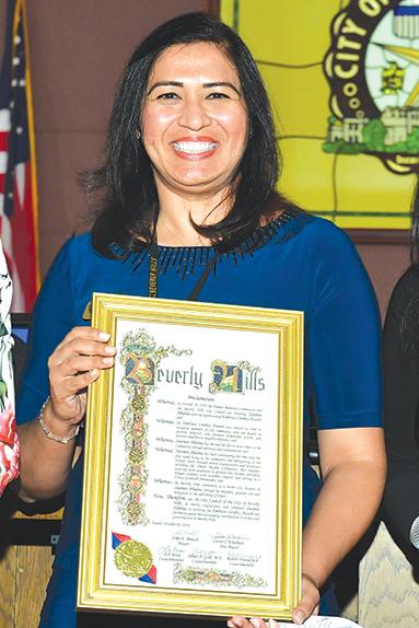 Sharmin Allidina (photo courtesy of the city of Beverly Hills)