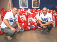Dodgers ensure families have Thanksgiving dinner