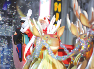 Hollywood Christmas Parade marches through Tinsletown with celebrities, floats and Santa