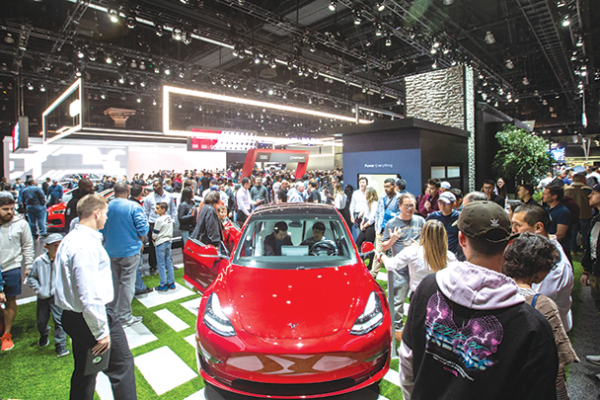 Dozens of vehicle debuts, exhibits and automotive-related activities are included at the annual Los Angeles Auto Show. (photo courtesy of the Los Angeles Auto Show)