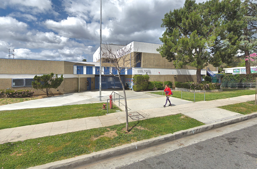 Laurel Span School will become Laurel Cinematic Arts and Creative Technologies Magnet for the 2020-21 school year. (photo courtesy of Google Maps)