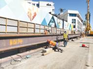 Subway construction prompts lane restrictions