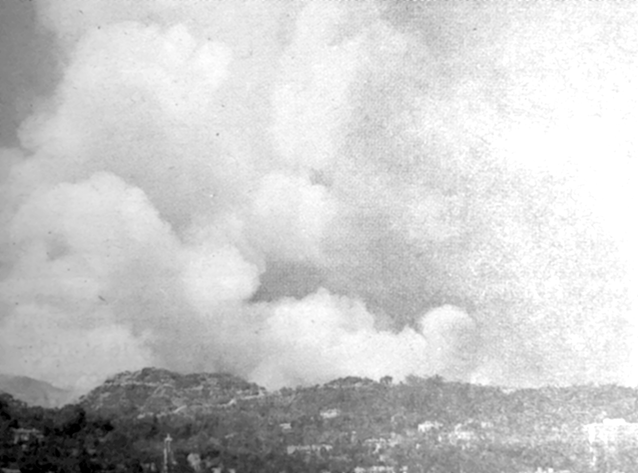 Hollywood Hills fires