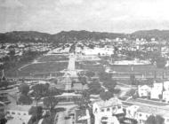 VINTAGE: Pan Pacific Park takes shape on the horizon