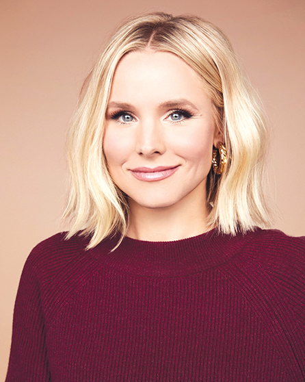 Kristen Bell (photo courtesy of the Hollywood Chamber of Commerce)
