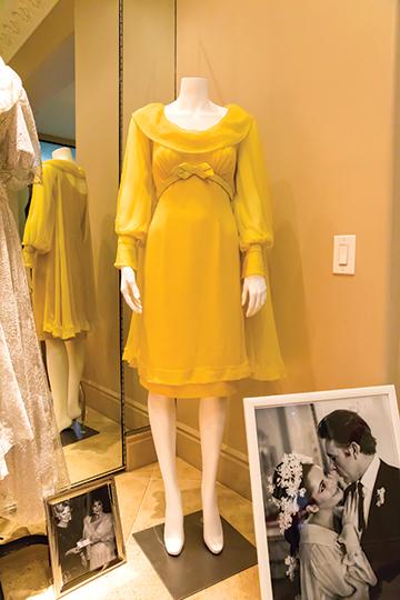 Liz Taylor wedding dress
