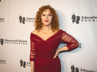 Theater gala honored Bernadette Peters, launched new grant