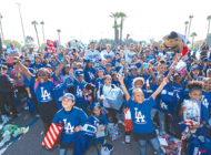 Dodgers make the season brighter for homeless children