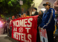 Protesters advocate for tenant rights