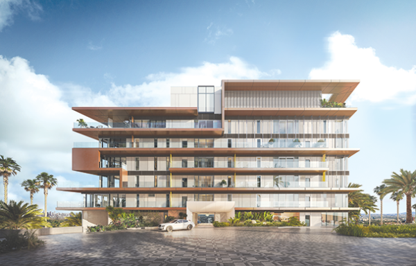 The Pendry Hotel and Residences are slated to open next year on the Sunset Strip. (photo courtesy of Pendry Residences West Hollywood)