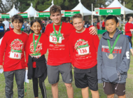 Beverly Hills middle school students support Arthritis Foundation in 'Jingle Bell Run'