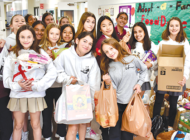 Immaculate Heart students give back by adopting families for the holidays