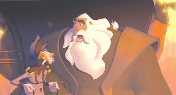 """Klaus"" is a delightful animated holiday film about the origin of the legend of Santa. (photo courtesy of Netflix)"