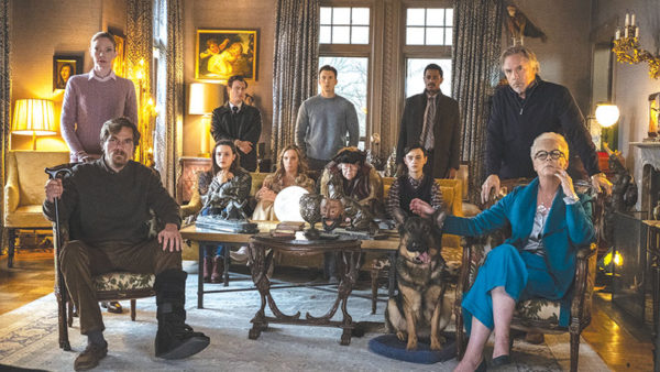 """The Thrombey family is comprised of an ensemble cast, and makes """"Knives Out"""" an awards season frontrunner. (photo courtesy of Lionsgate)"""