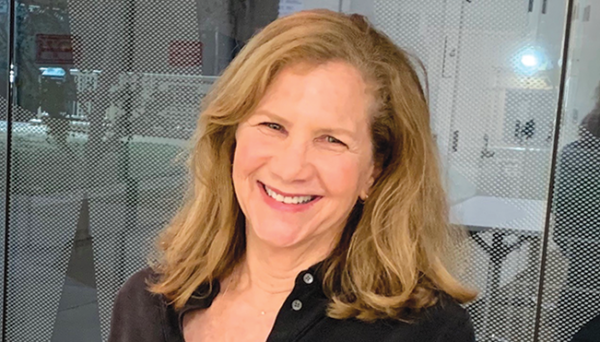 Leslie Karliss was elected as the West Hollywood West Residents Association's new president. (photo courtesy of WHWRA)