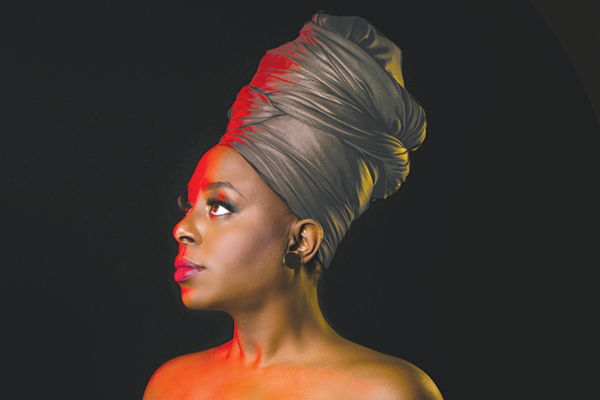 Ledisi is a 12-time Grammy-nominated vocalist and CEO of record label Listen Back Entertainment. (photo by Ron Young)