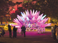 Grand Park hosts 'Winter Glow' interactive art display