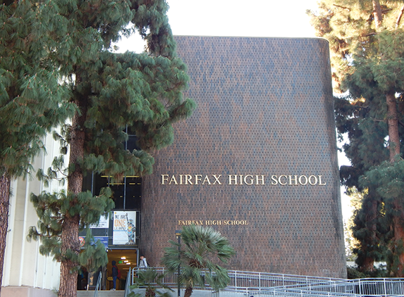 Two programs at Fairfax High School, the Career and Transition Center and the Fairfax Police Academy Magnet, would have been affected by the addition of the middle school. (photo by Cameron Kiszla)