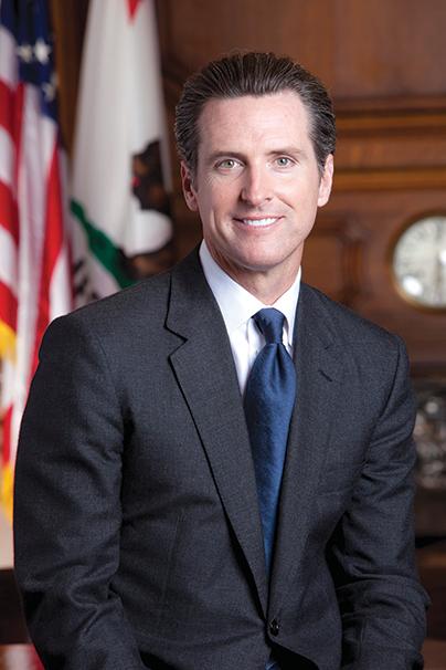 Gov. Gavin Newsom (photo courtesy of Wikimedia Commons)