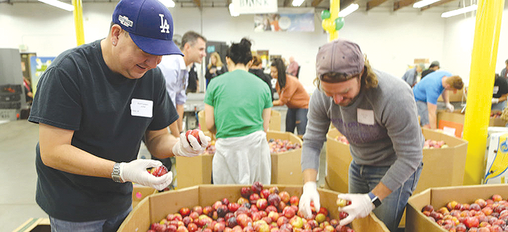 The Los Angeles Regional Food Bank provides meals to approximately 300,000 people monthly. (photo courtesy of the Los Angeles Regional Food Bank)