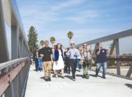 Community celebrates Red Car Bridge over Los Angeles River