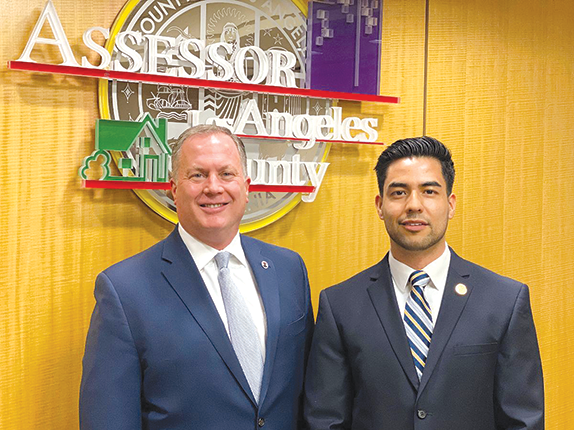 Los Angeles County Assessor Jeff Prang has appointed Aldo Macias Arellano to oversee community relations in underserved communities. (photo courtesy of the Los Angeles County Assessor's Office)