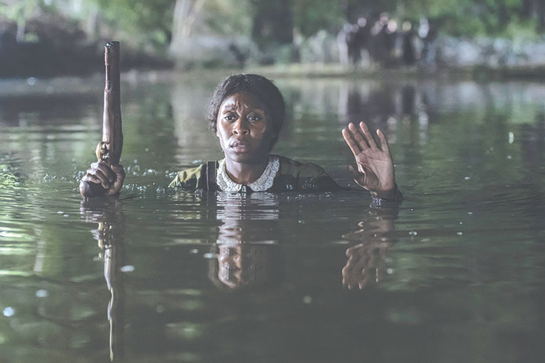 """""""Harriet,"""" starring Cynthia Erivo as Harriet Tubman, fails to offer an in-depth exploration of the iconic historical figure. (photo courtesy of Focus Features)"""