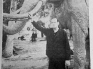 VINTAGE: Mammoth statues still stand tall at Tar Pits