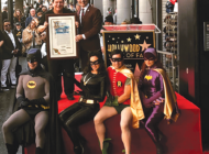 Burt Ward receives Walk of Fame star