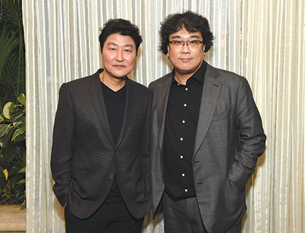 Song Kang Ho and Bong Joon Ho
