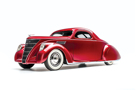 "1937 Lincoln Zephyr ""VooDoo Priest"""
