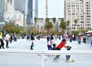 Downtown ice rink open through Monday