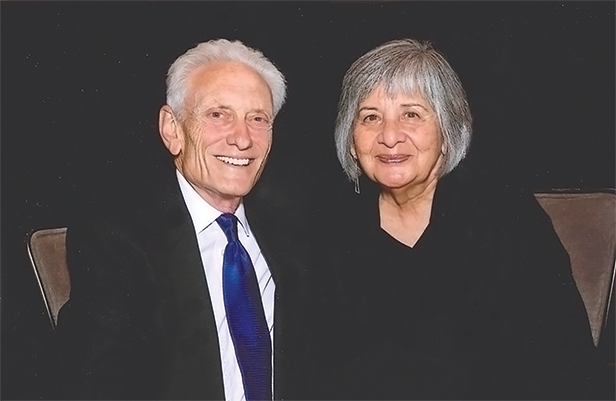Frank and Virginia Maas (photo courtesy of American Jewish University)