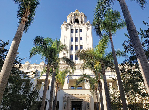 Beverly Hills' pensions are dependent upon the investment returns of CalPERS. (photo by Cameron Kiszla)