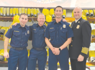 BHFD welcomes newest members to department