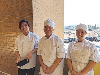 BHUSD culinary students