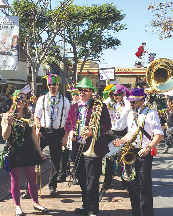 Celebrate Mardi Gras with food, music and family fun at the Farmers Market this weekend. (photo courtesy of the Original Farmers Market)