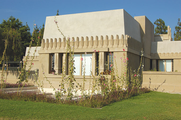 Hollyhock House was included on the UNESCO World Heritage List last year. (photo by Edwin Folven)