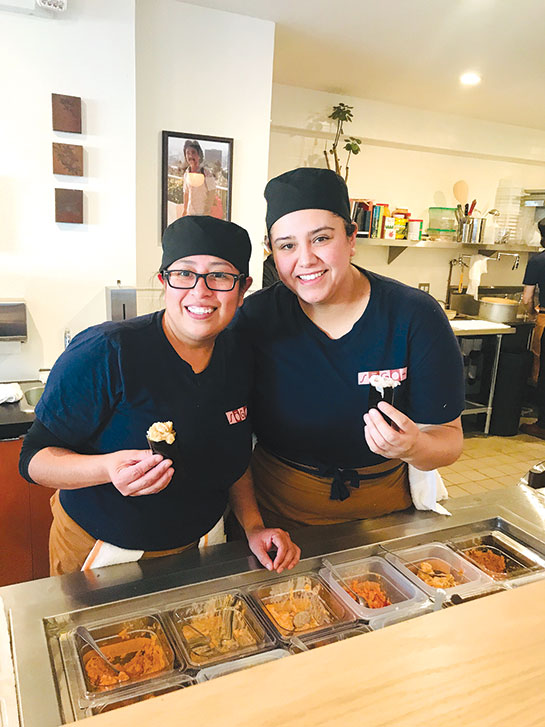 """Sōgo translates to """"mutual,"""" representing the give-and-take concept between chef and diner at Sōgo Roll Bar. (photo by Jill Weinlein)"""