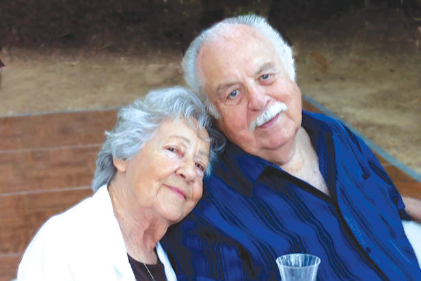Dave and Rose DeRosa were remembered for their commitment to loved ones and the family business. (photo courtesy of Louis DeRosa)